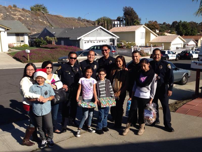FALEO distributes donations to Families in Need